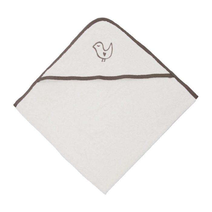 Полотенце для новорожденных с уголком Living Crafts 100 x 100cm