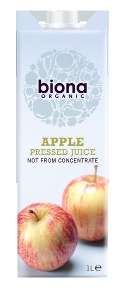 Яблочный сок Biona, натуральный 1L