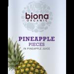 Кусочки ананаса в собственном соку Biona 400g
