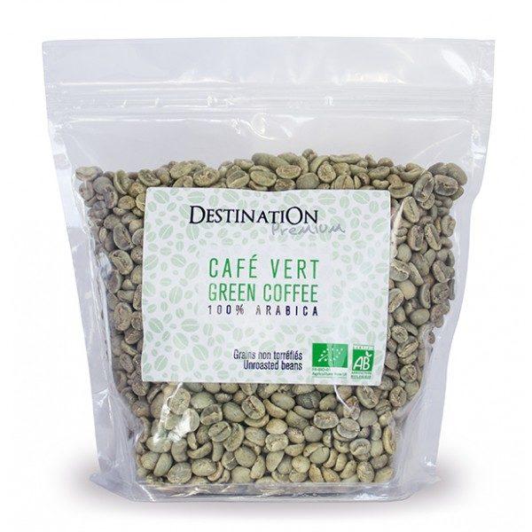Зеленый кофе в зернах Arabica Premium Destination 500g