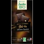 Черный шоколад с Эквадора 90% JardinBio 100g