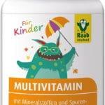 Жевательные мультивитамины для детей Raab 90шт