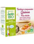 Хрустящие хлебцы с киноа и нутом JardinBio 150g