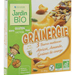 Энергетический батончик  с абрикосом, миндалем и фундуком JardinBio 3 x 25g