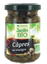 Каперсы в винном уксусе JardinBIO 140g