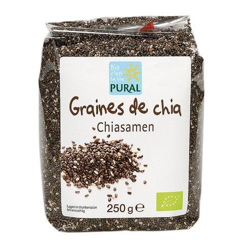 Семена чиа Pural 250g