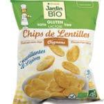 Чечевичные чипсы с луком JardinBio 50g