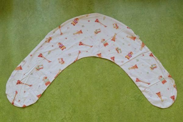 Хлопковая наволочка на подушку для кормления Popolini