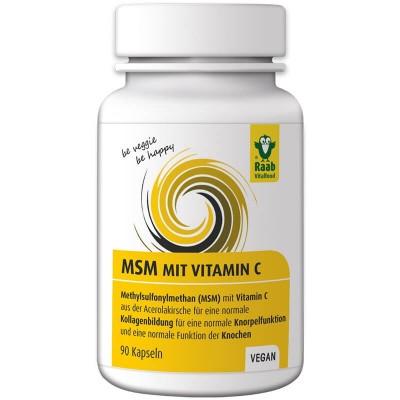 MSM + витамин С Raab 90шт