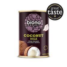 Кокосовые сливки для взбивания Biona