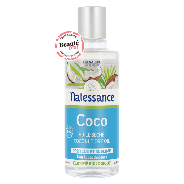 Кокосовое масло Natessance