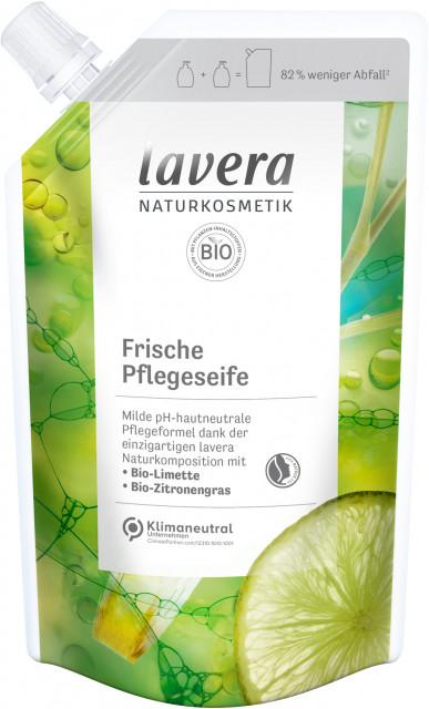 Жидкое мыло с лаймом и лимонной травой Lavera