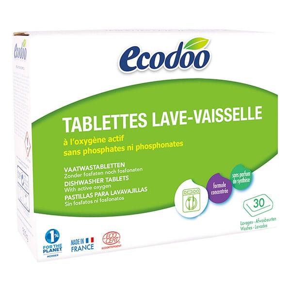 Таблетки для посудомоечной машины Ecodoo