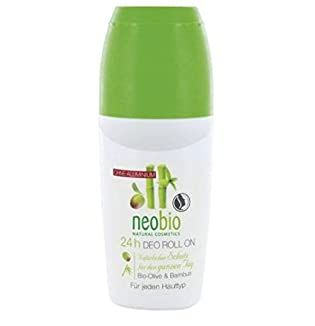 Шариковый дезодорант с оливой и бамбуком Neobio 50g
