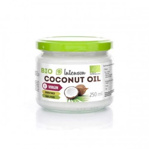 Кокосовое масло холодного отжима Intenson 250g